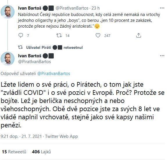 Bartoš a Babiš