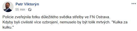 Komentář k útoku v Ostravě