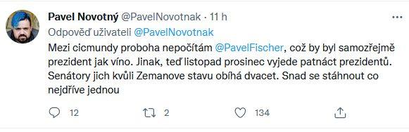 Pavel Novotný burcuje