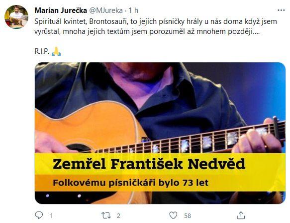 Zemřel František Nedvěd