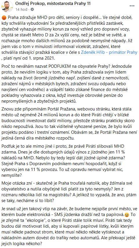 MHD v Praze