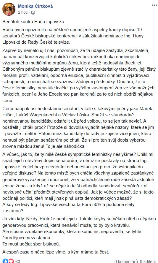 O Haně Lipovské