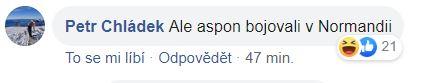 Petr Chládek komentující Sulovskou