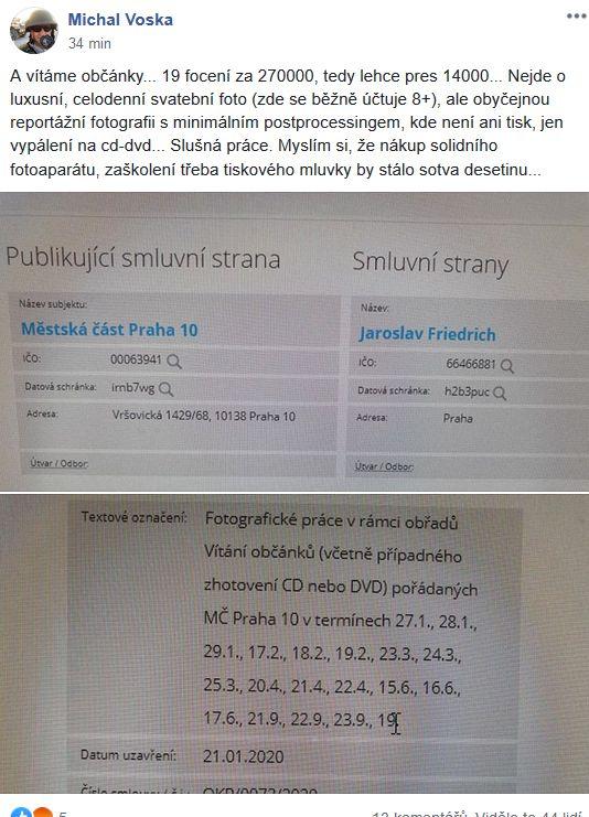 Focení na Praze 10