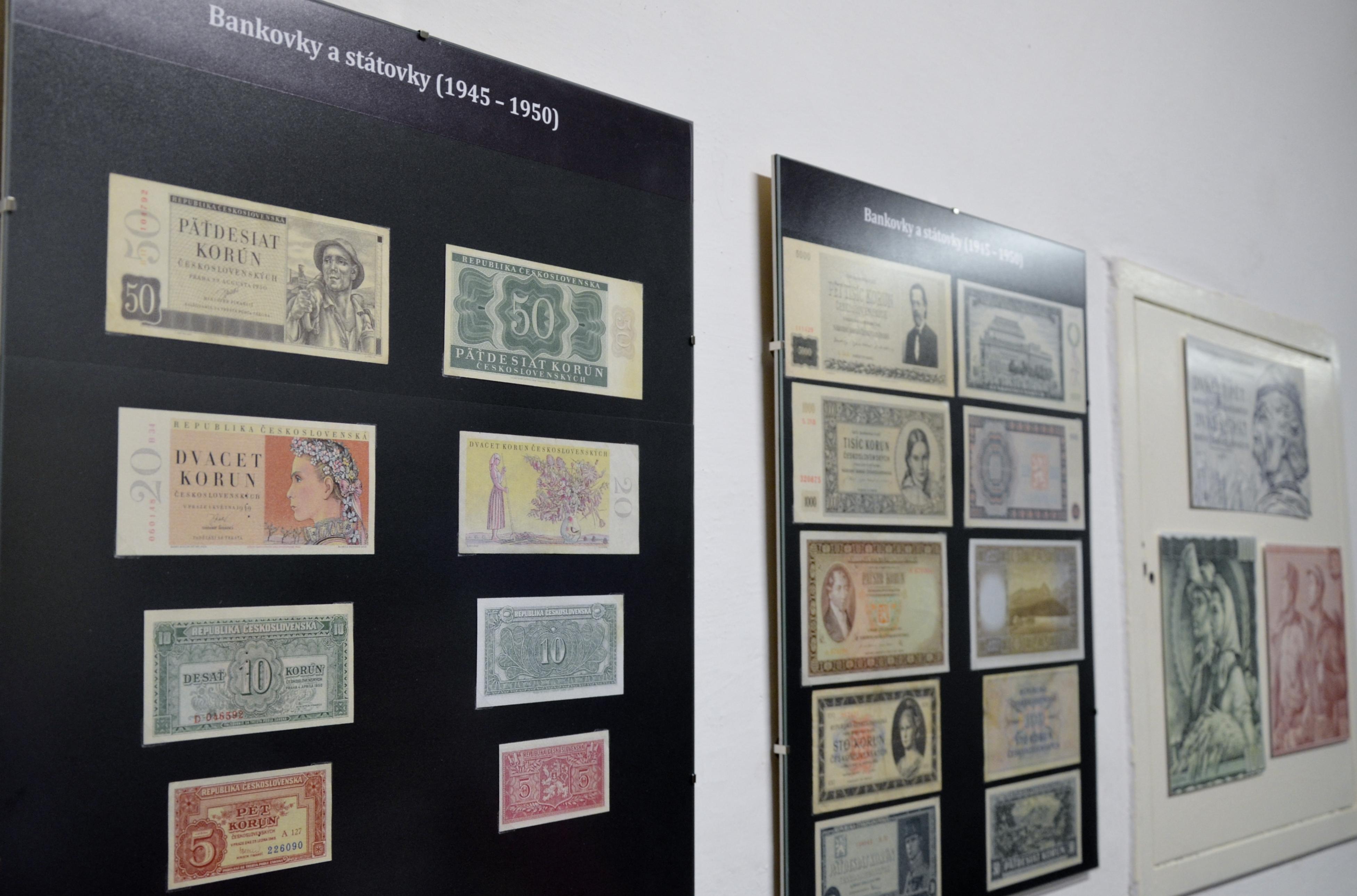 výstava 100 let česko-slovenské koruny