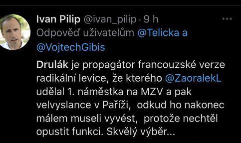 Petr Drulák pod palbou