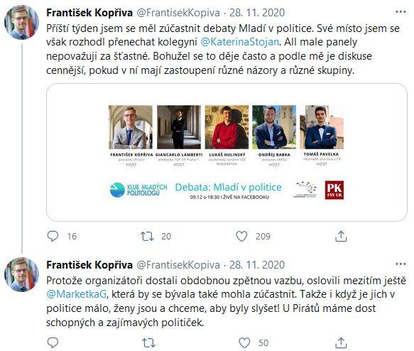František Kopřiva promluvil