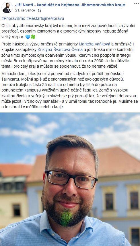 Zelený kraj Jiřího Nantla
