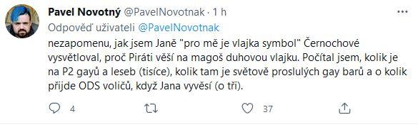 Výzva Pavla Novotného.