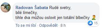 Reakce na Kalouskovu básničku