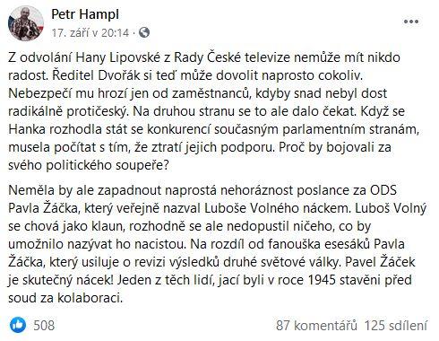 Ostrý Petr Hampl