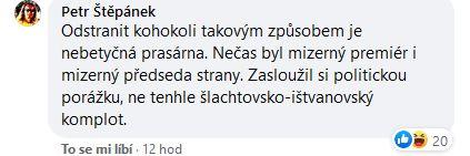 Reakce na Šlachtovu novou stranu