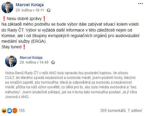 Europoslanec Marcel Kolaja Informuje