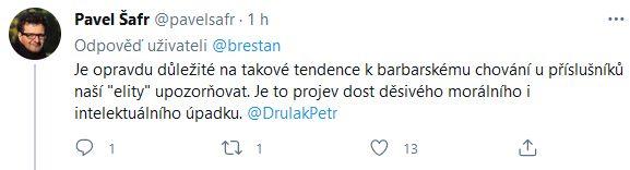 Pavel Šafr se zlobí