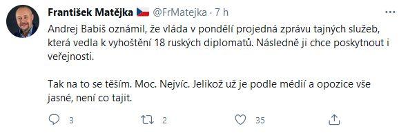 Reakce na chování Ruské federace