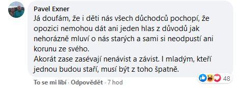 reakce na grafy Andreje Babiše