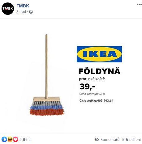 TMBK visí poslance Foldynu jako ruské koště