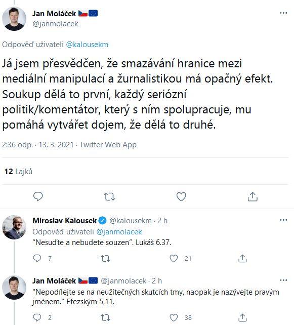 Miroslav Kalousek vyvolal rozruch