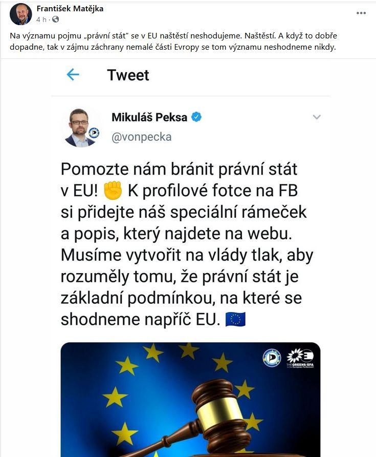 František Matějka a Mikuláš Peksa se ocitli ve při.