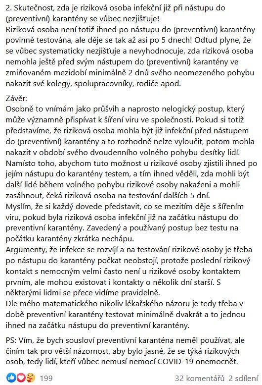 Miloš Vystrčil promluvil o trasování