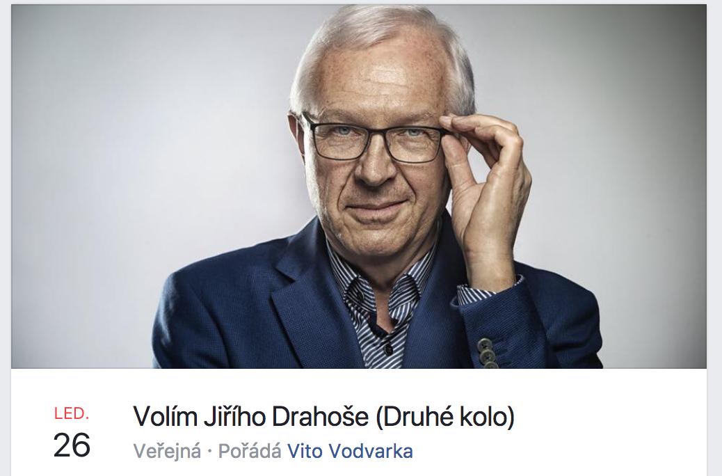 852f2088c20 Na podporu Jiřího Drahoše pak je již i událost na Facebooku - ZDE.