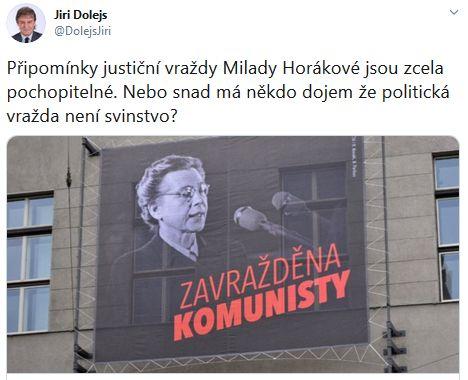 Jiří Dolejš poslal vzkaz soudruhům