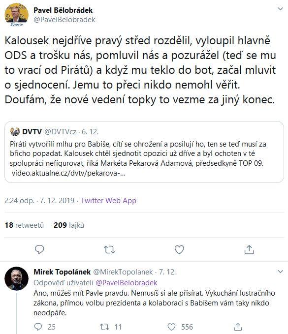 Povídání o Miroslavu Kalouskovi