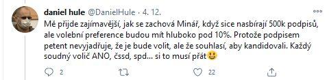 Jste PRO s Mikulášem Minářem?