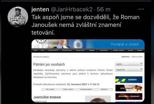Hledaný Janoušek
