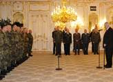 Prezident Miloš Zeman přijal velitele jednotek aktivní zálohy
