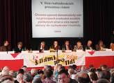 Československá hymna i petice. Tak vypadala tradiční Slavnost Haló novin