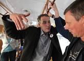 Ukrajina je mafiánský stát, z Putina jde strach... Na akci TOP 09 bylo živo