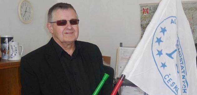 Předseda Asociace odborových svazů v Libereckém kraji Milan Šubrt.