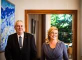 Miloš Zeman s prezidentkou Chorvatska Kolindou Gra...