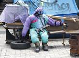"""""""Majdanovec"""" nejspíš čekající chemický útok"""