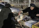 Potraviny se často prodávají přímo na ulici