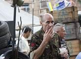 Strážci euromajdanu nemají novináře moc v oblibě