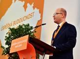 Předseda ČSSD Bohuslav Sobotka na 39. sjezdu ČSSD ...