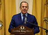 Horko kvůli Koněvovi. V ruské televizi promluvil Lavrov: Odstranění sochy je nepřijatelné. Češi budou mít co vysvětlovat