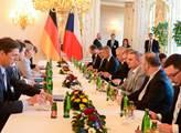 Návštěva kancléřky Merkelové na Pražském hradě