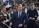 Víc procent než opozice má i nealko pivo. Srbsko drtivě ovládl prezident. Přeje mu Orbán, jede do Moskvy