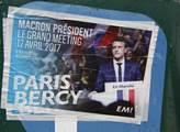 Přestože je prezidentský kandidát Emmanuel Macron ...