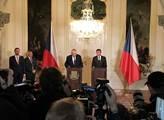 Prezident Miloš Zeman pověřil vítěze voleb Andreje...