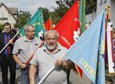 Osmdesátileté výročí velké protifašistické demonst...