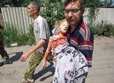 Lidé na Donbasu přišli o mnoho dětí