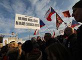 Demonstrace Milionu chvilek pro demokracii na praž...