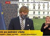 Vláda rozhodla. Ministr Vojtěch má v ruce zákon o mimořádných opatřeních. Toto může nařídit