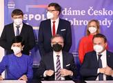 V neděli podepsali Petr Fiala, Markéta Pekarová Ad...