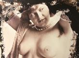 Obrázek prostitutky z Rakouska-Uherska