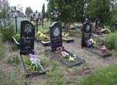 Hřbitov krajanů v ukrajinské Malinovce
